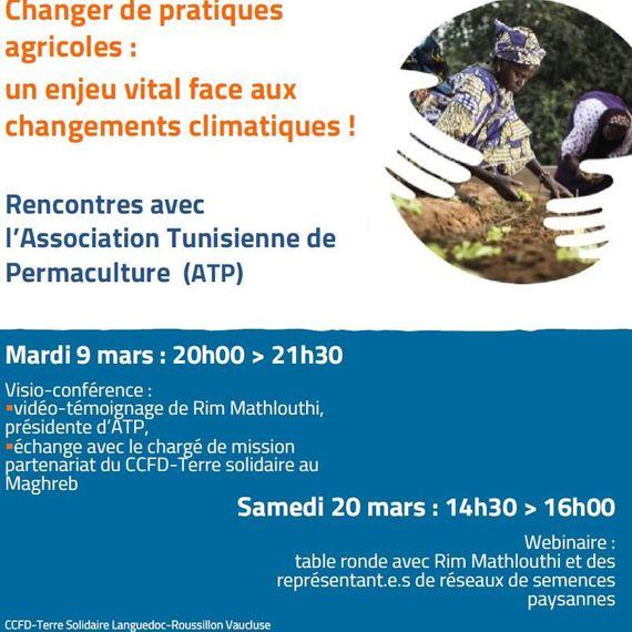 Escales en Tunisie avec notre partenaire : l'Association Tunisienne de Permaculture